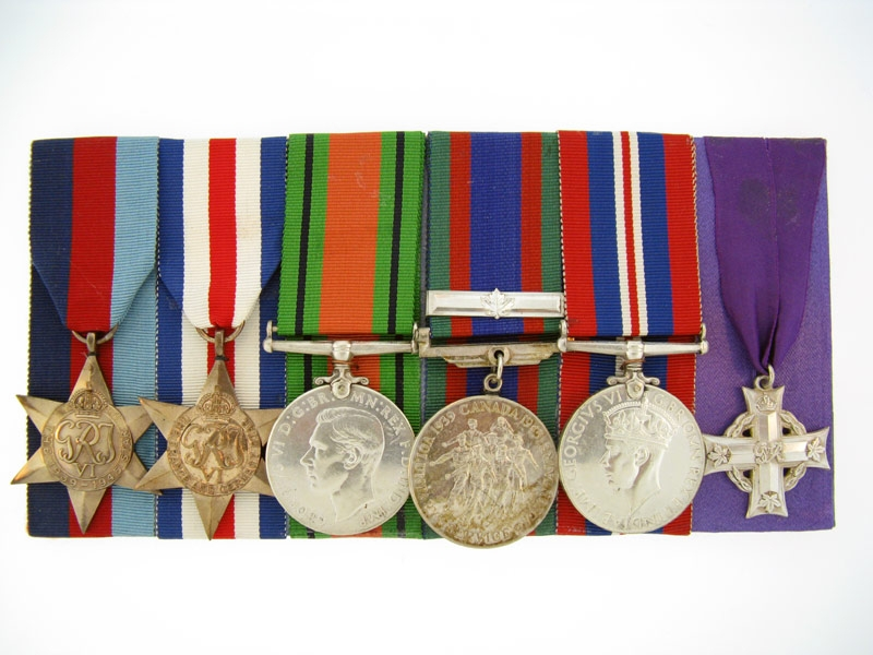 eMedals-WWII Memorial Cross Group of Six,