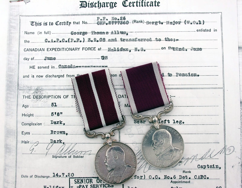 eMedals-Rare Colonial Meritorious Service Group