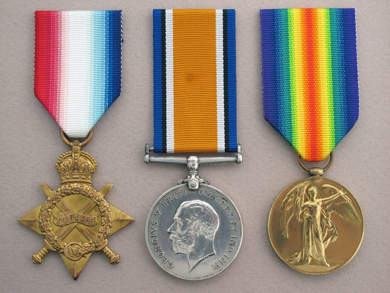 eMedals-WWI 3rd Canadian Infantry – KIA