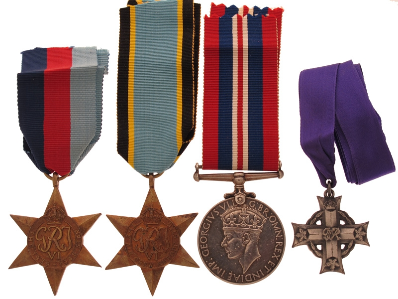 eMedals-WWII Memorial Cross Group of Four