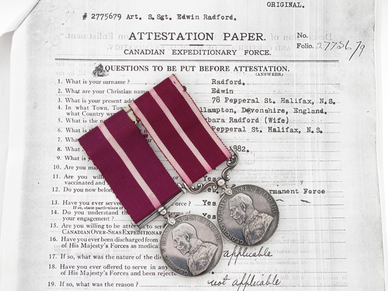 eMedals-Rare Colonial Meritorious Service Pair