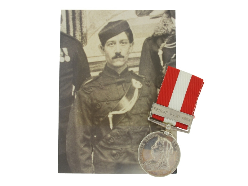 eMedals-Canada General Service to Lt. H. Givins, R.C.R.