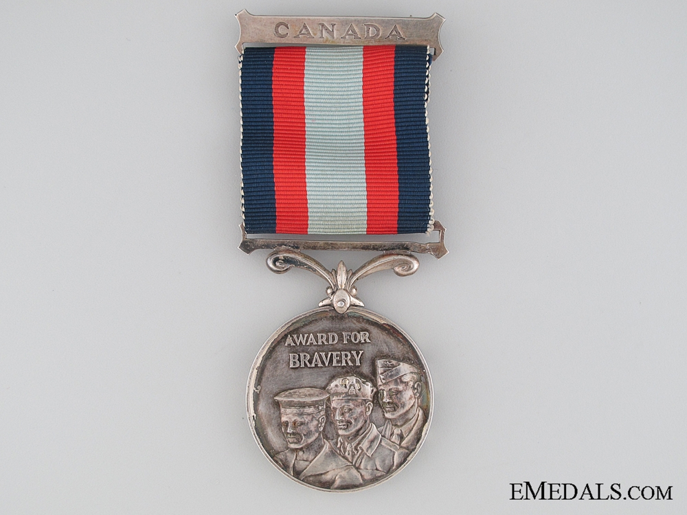 eMedals-A Rare Canadian Cadet Medal for Bravery on the Tickle River 1962