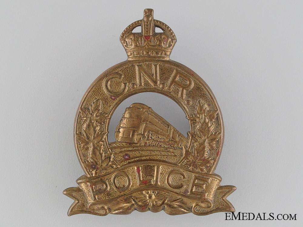eMedals-Canadian National Railway (CNR) Police Badge