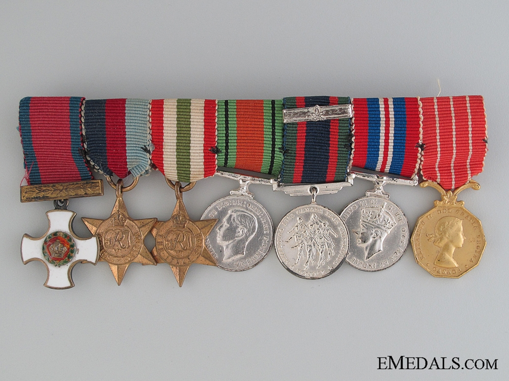 eMedals-Canadian WWII Group of Seven Miniatures