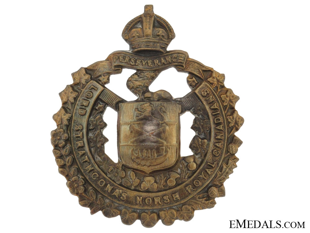 eMedals-Lord Strathcona's Horse Cap Badge, CEF