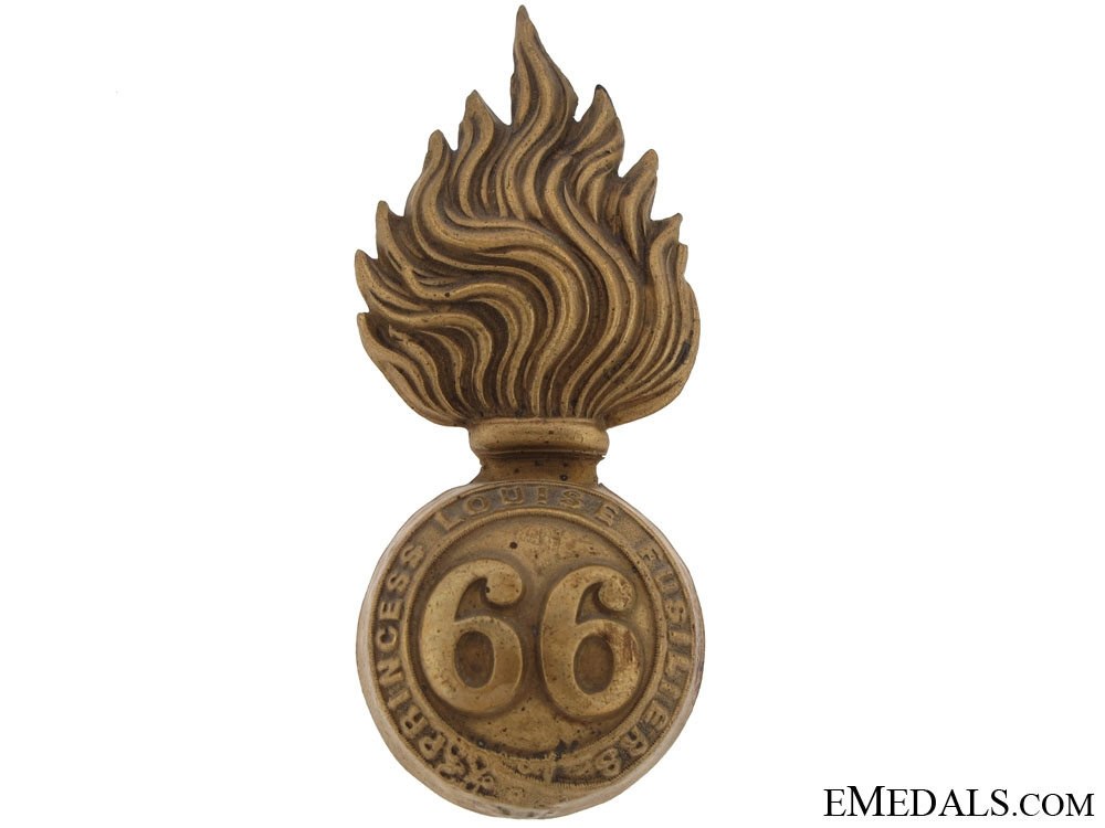 eMedals-66th Princess Louise Fusiliers Badge