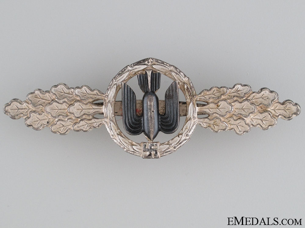 eMedals-Clasp for Bomber Pilots – Silver by G.H. Osang