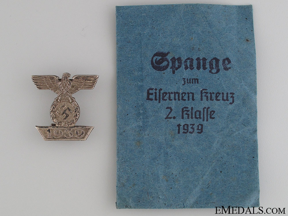 eMedals-Clasp to the Iron Cross 2nd Class 1939