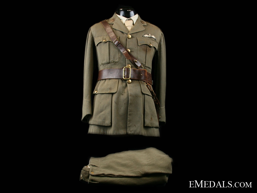 eMedals-Royal Flying Corps Uniform to Canadian Fighter Ace Lt. John Henry Smith