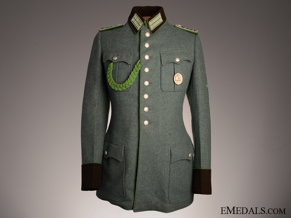 eMedals-Cologne Protection Police NCO's Tunic