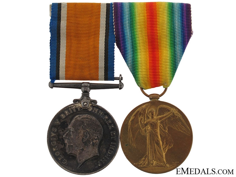 eMedals-WWI Pair to Sergeant Hamilton - 15th Infantry Battalions