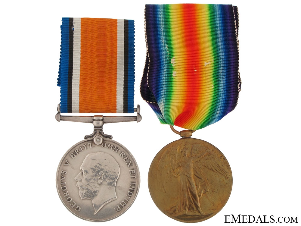 eMedals-A First War Pair to Canadian Nursing Sister