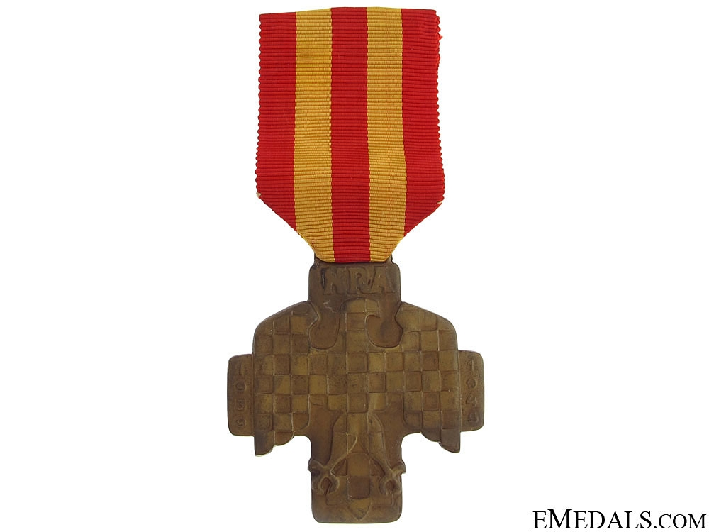eMedals-Commemorative Medal of the National Revolutionary Army