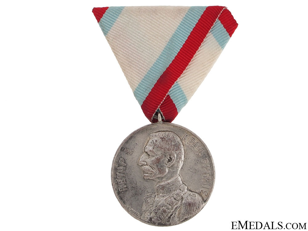 eMedals-Coronation Medal of Peter I, 1903