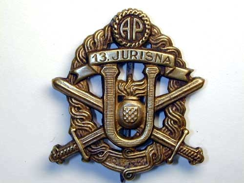 eMedals-BADGE OF THE 13TH STUDENTS' STORM TROOP