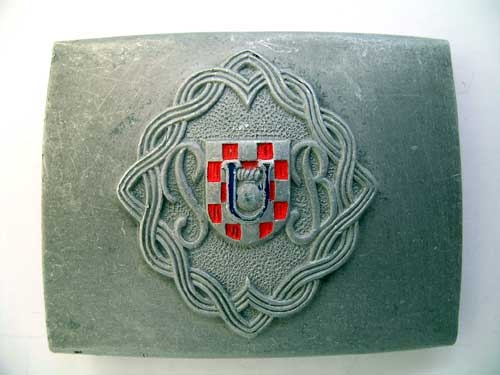 """eMedals-""""PB""""  BUCKLE WWII"""