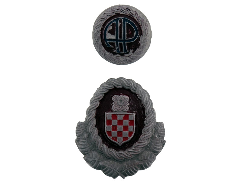 eMedals-Officer's Cap Badges, WWII