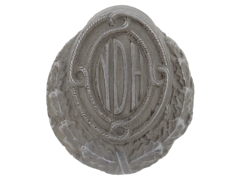 eMedals-An Early WWII Officer's Army Cap Badge