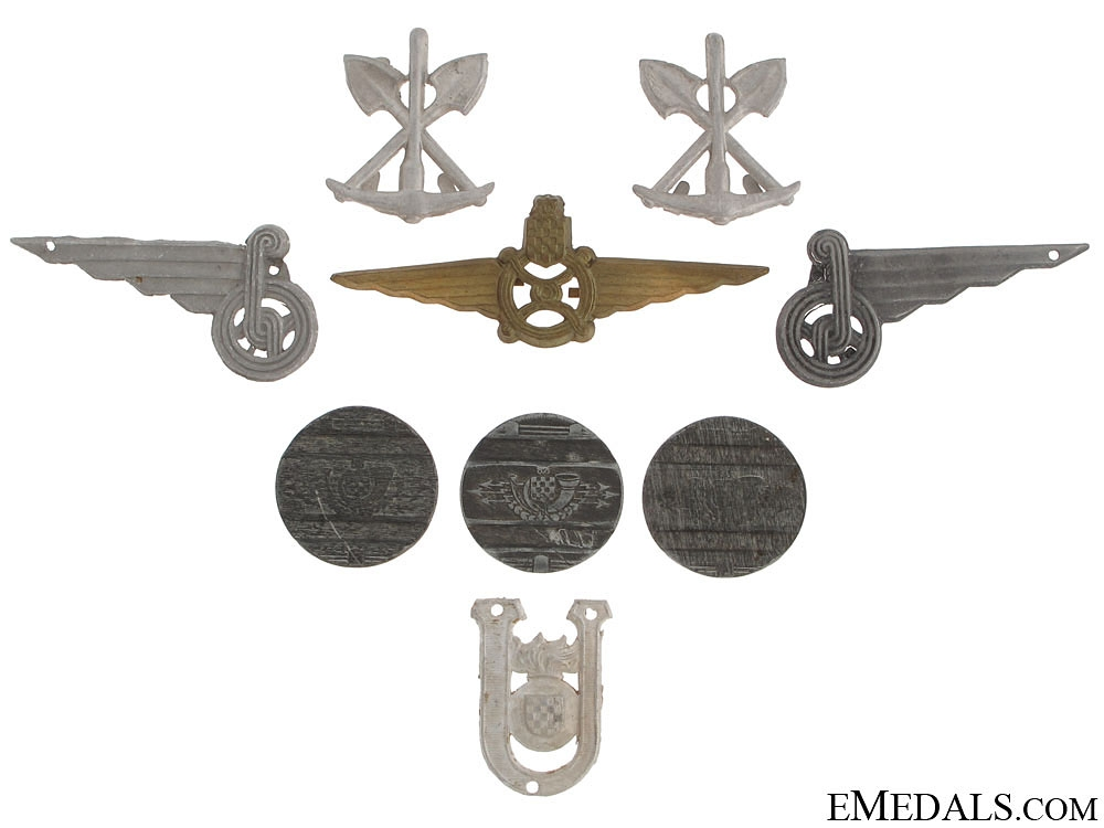 eMedals-Croatian Insignia & Telephone Jettons