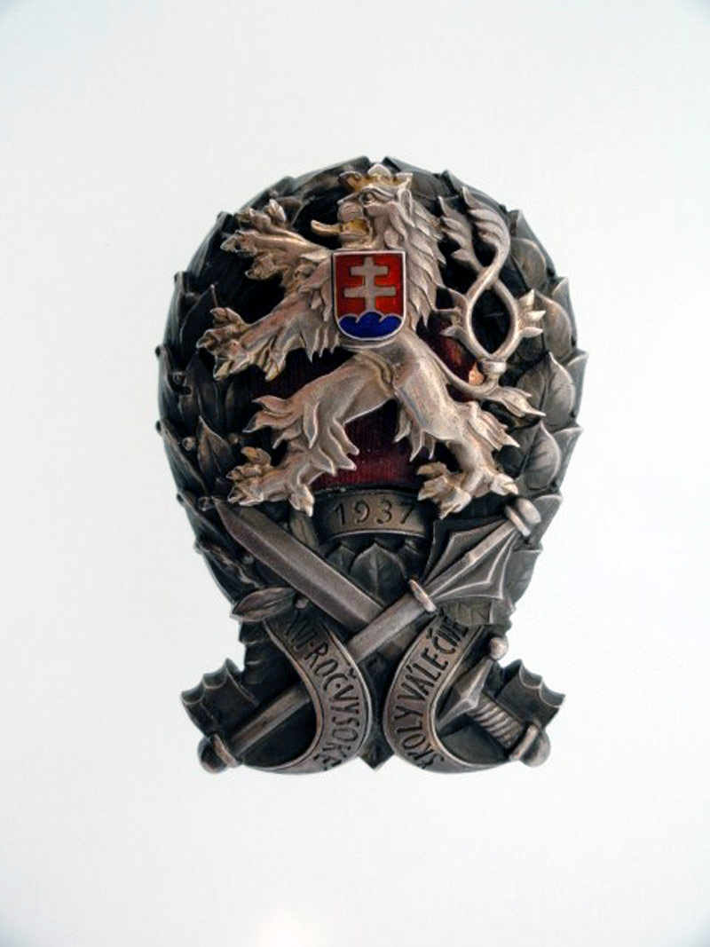 eMedals-Military Academy Badge 1937