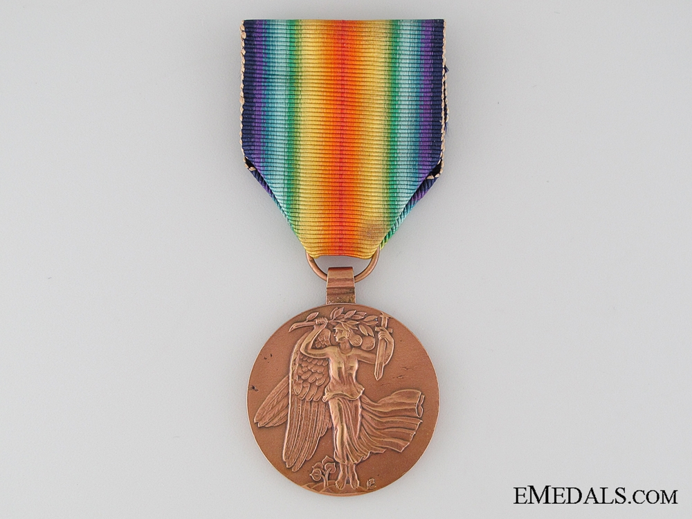 eMedals-Czechoslovakian WWI Victory Medal, Re-Issue Type I