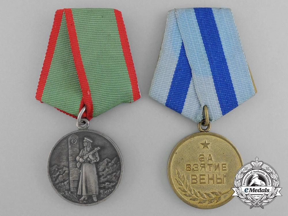 Russian Medals And 112