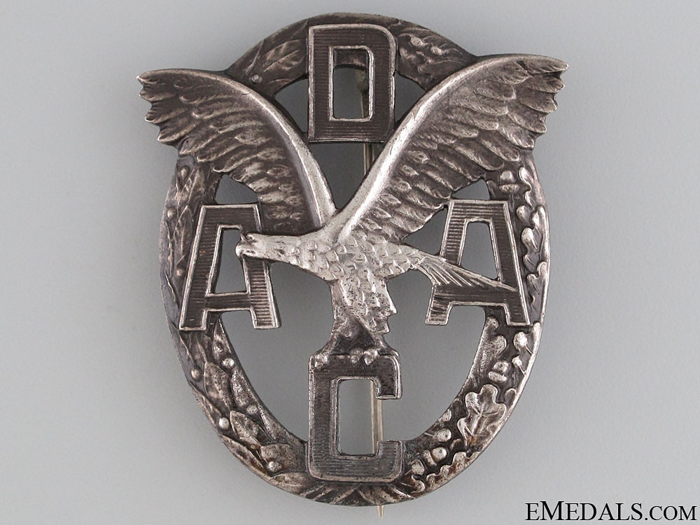 eMedals-DAAC Motor Sports Badge - Silver Grade