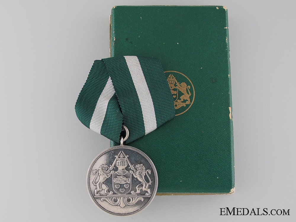 eMedals-Danish Police Long Service Medal