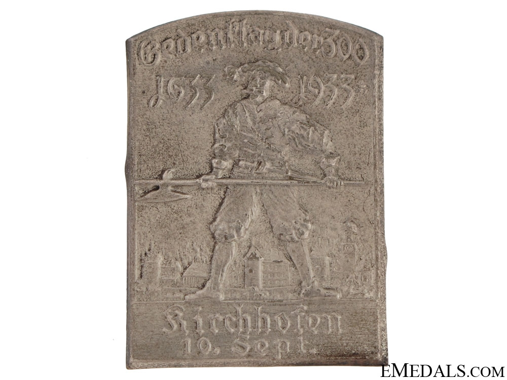 eMedals-Defence of Kirchhofen 300th Anniversary Tinnie