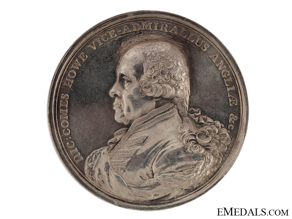 eMedals-Earl Howe's Medal for the Glorious 1st of June