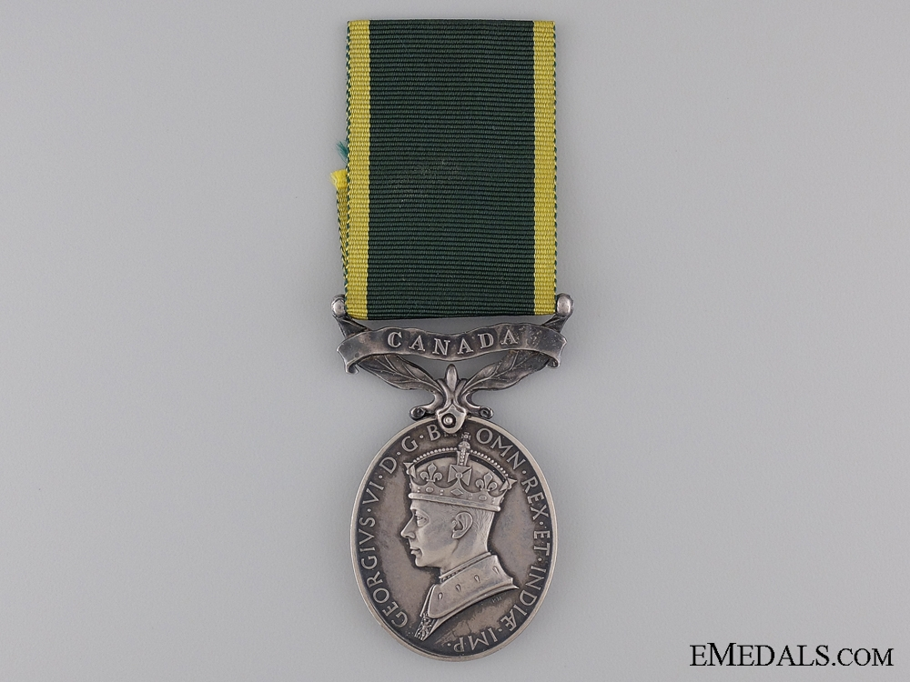 eMedals-Efficiency Medal to the Canadian Provost Corps