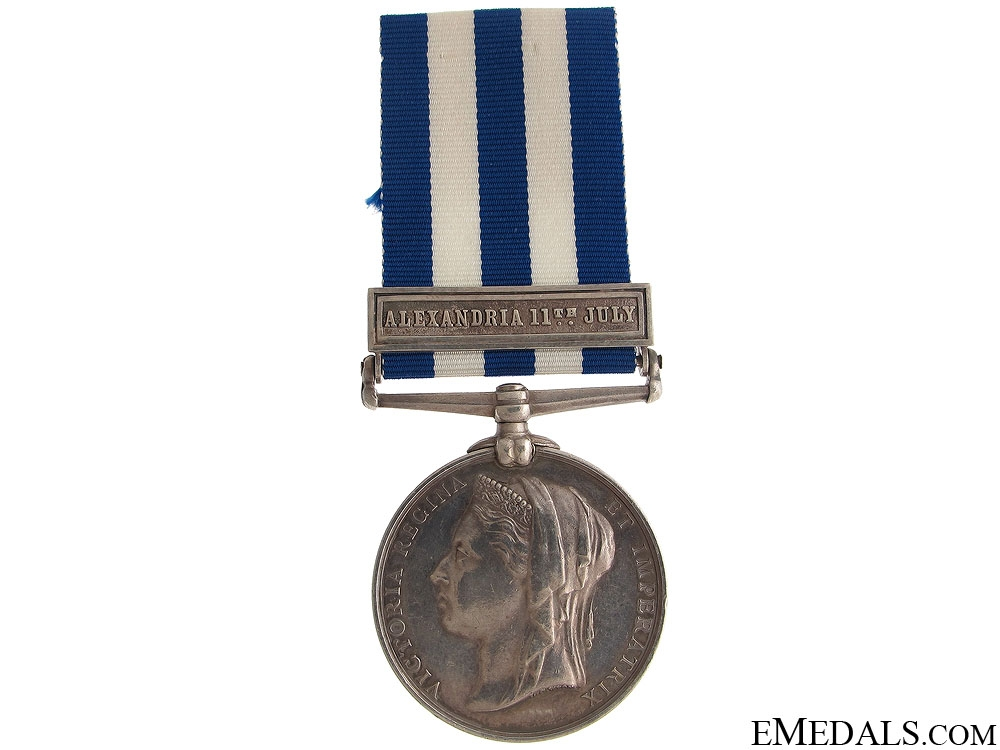 eMedals-Egypt Medal 1882 - Alexandria 11th July