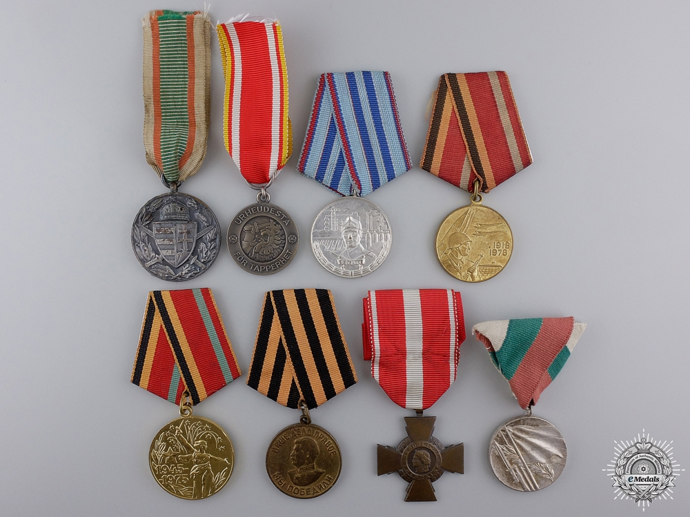 eMedals-Eight European Medals and Awards