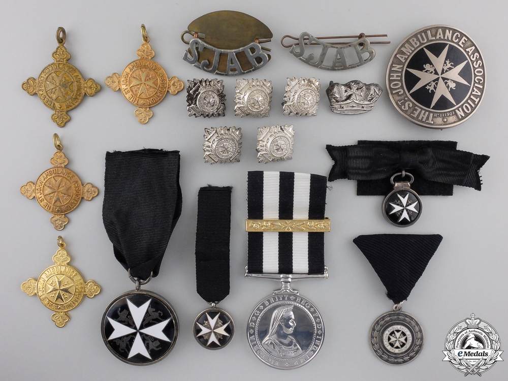 eMedals-Eighteen Order of St. John Medals and Insignia