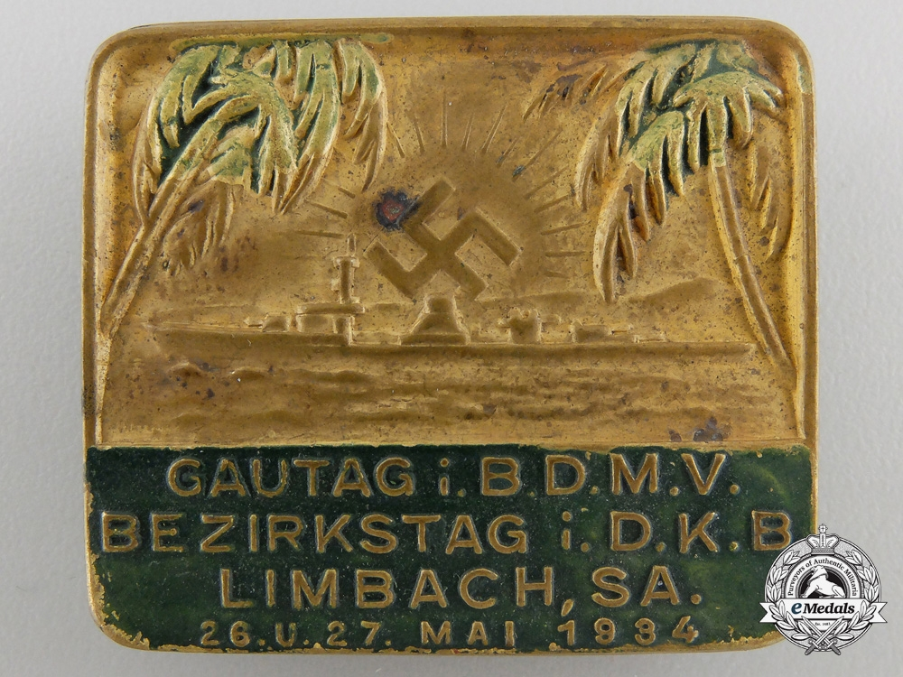 eMedals-A 1934 German Colonial Badge
