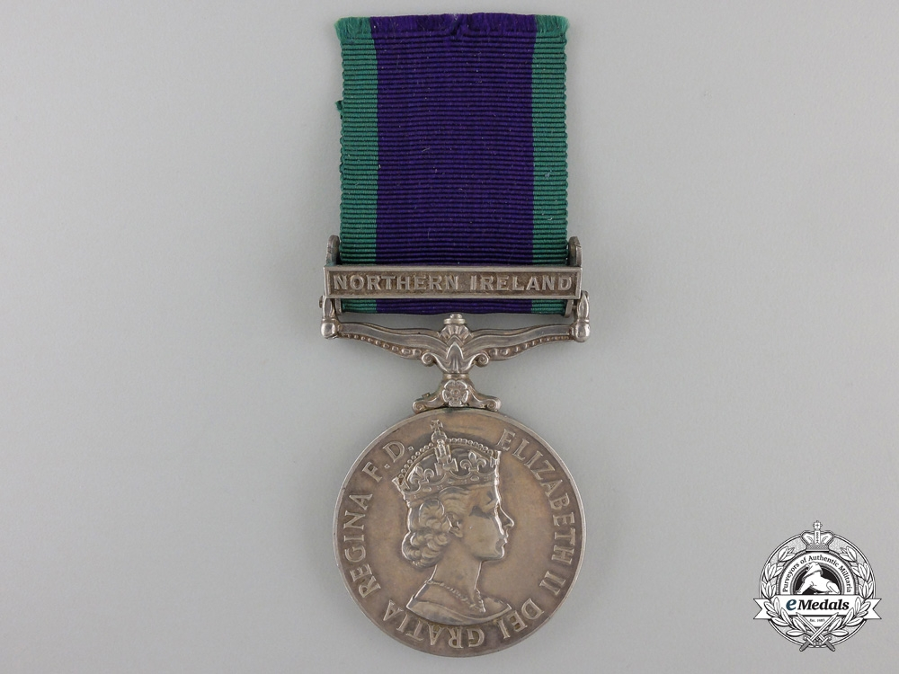 eMedals-A General Service Medal to the Royal Navy for Northern Ireland