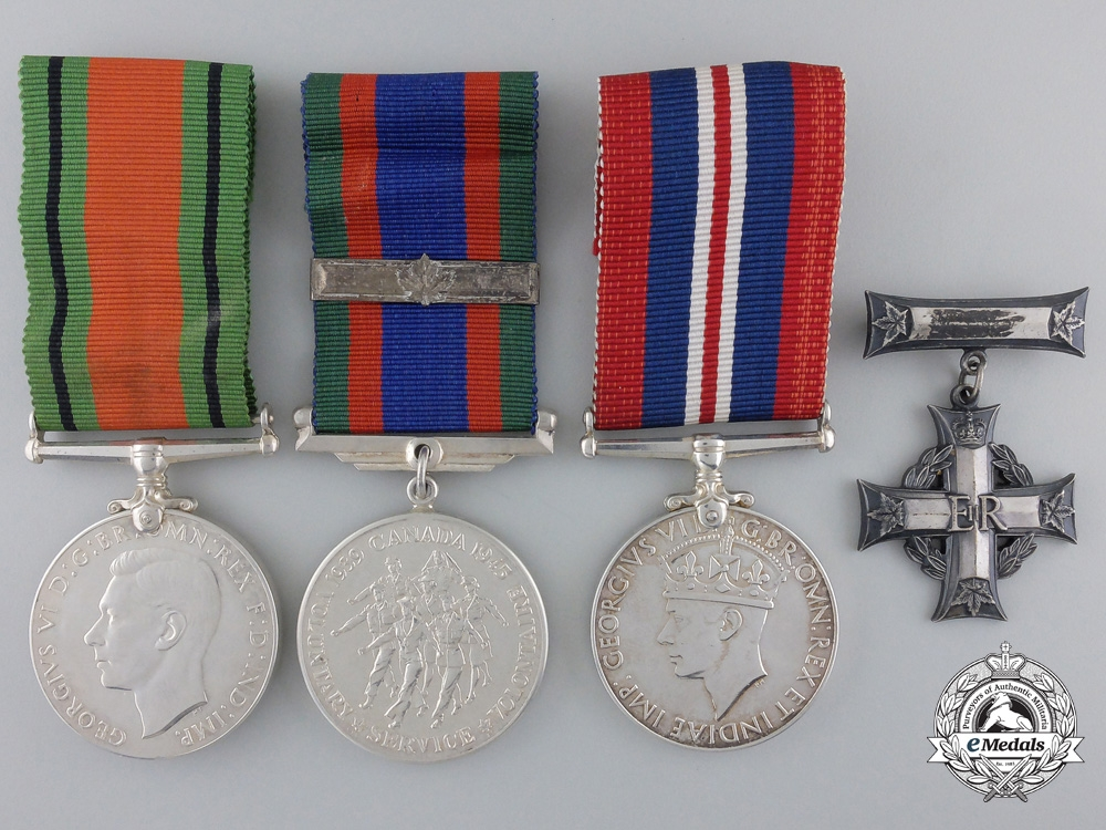 eMedals-A Memorial Group to the Royal Canadian Naval Reserve