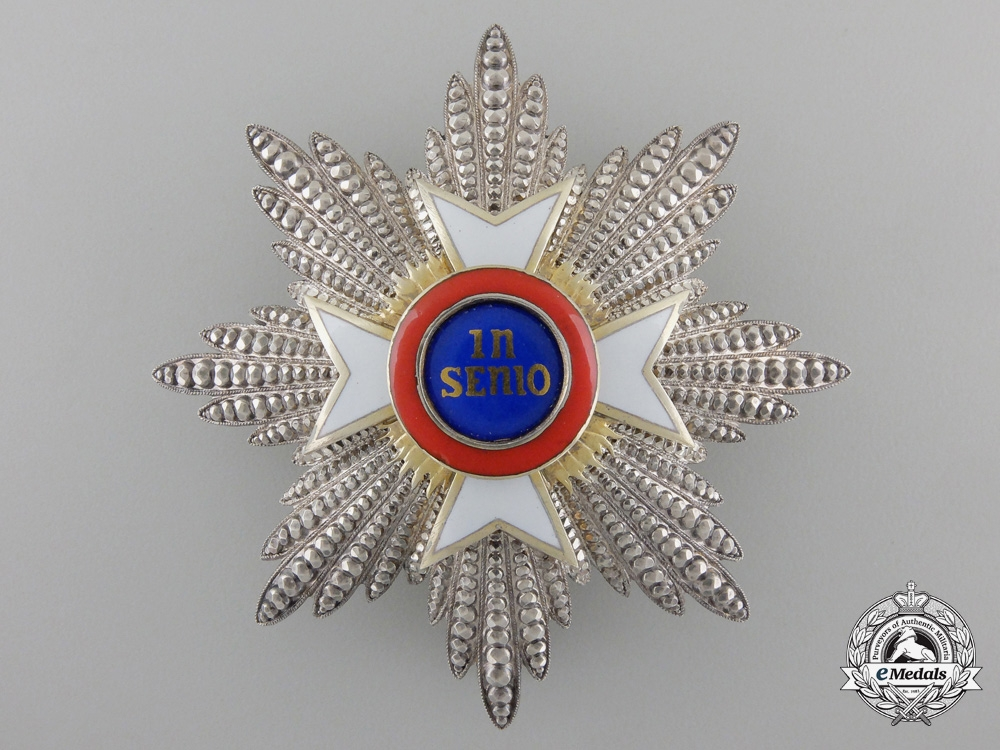 eMedals-A Hohenlohe House Order of the Golden Flame; Breast Star