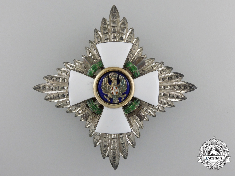 eMedals-An Italian Order of the Roman Eagle; Breast Star