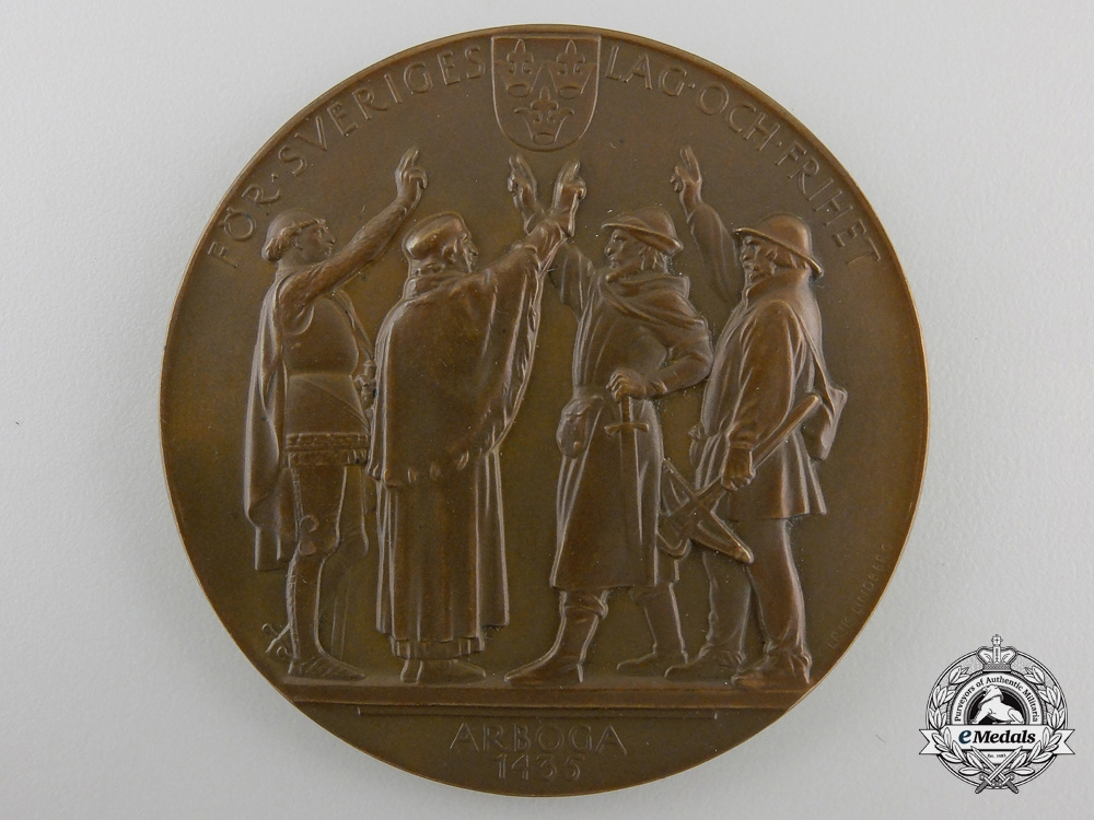 eMedals-A 1935 Swedish National Legistrative Assembly Medal