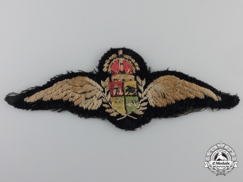 eMedals-A Second War South African Air Force Pilots Wing