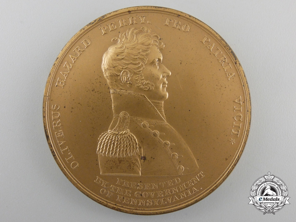 eMedals-An 1813 Battle of Lake Erie Commemorative Medal