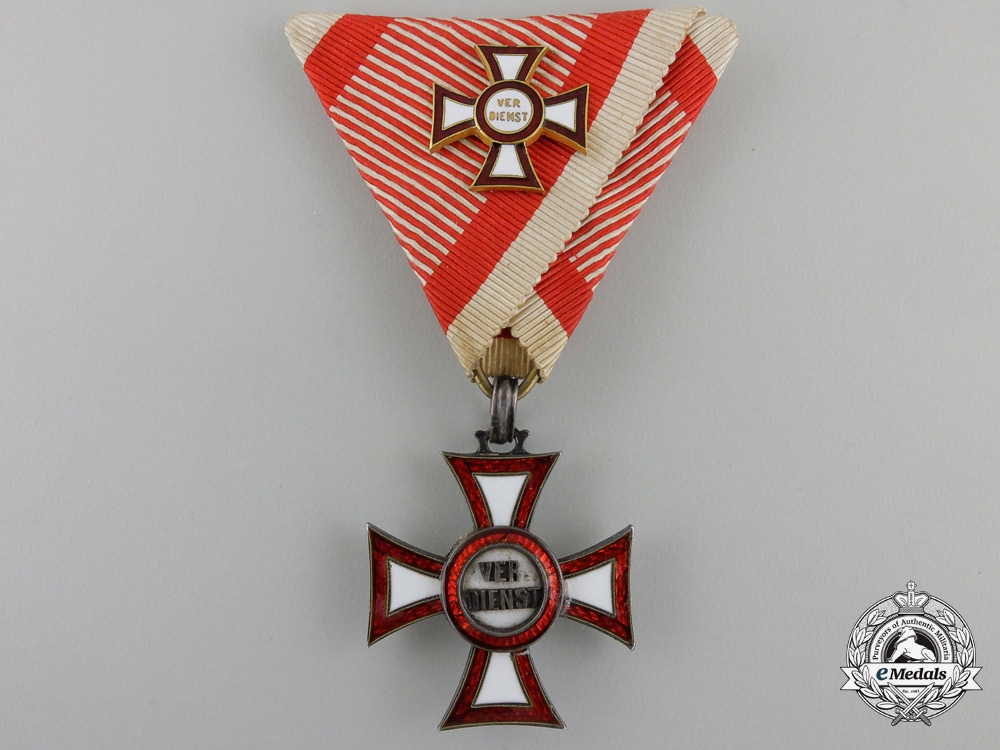 eMedals-An Austrian Imperial Military Merit Cross (MVK)