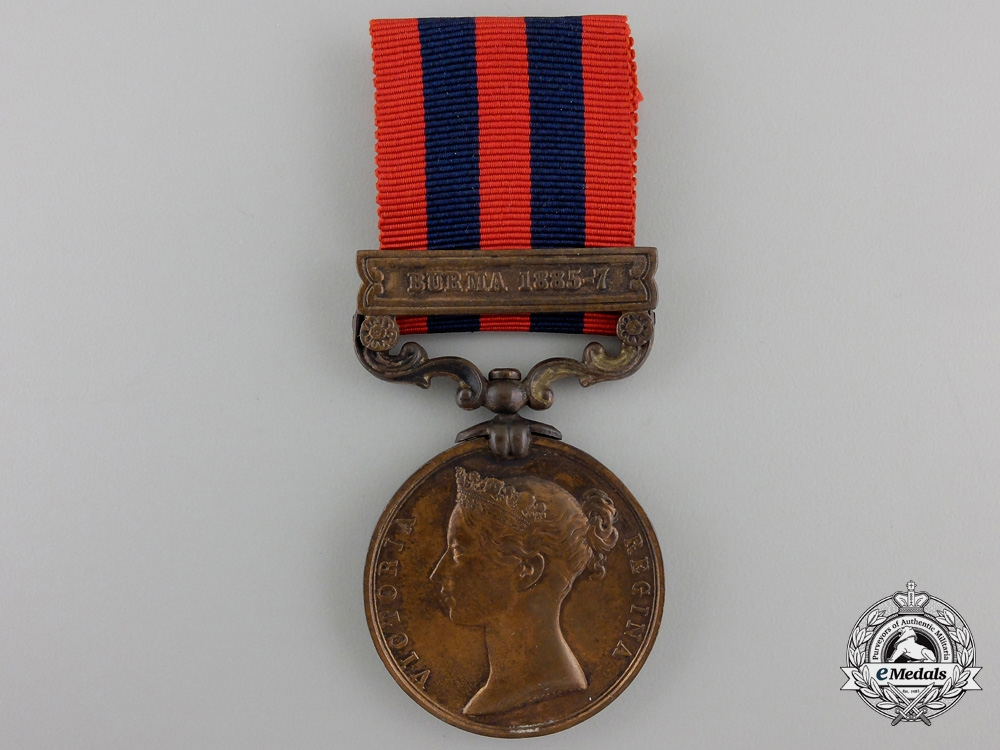 eMedals-A 1854-1895 India General Service Medal to the Transport Cooly Corps