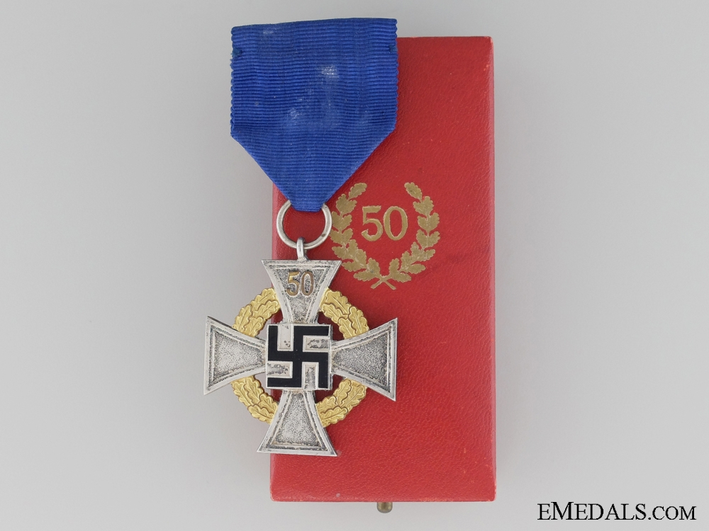 eMedals-Faithful Service Decoration; Fifty Year