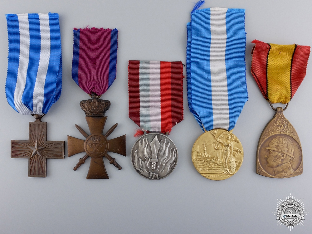 eMedals-Five European Medals and Awards