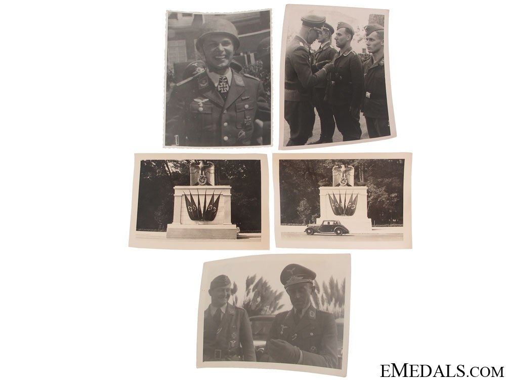 eMedals-Five Original Second War Photographs