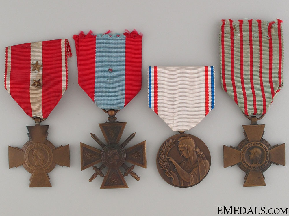 eMedals-Four French Medals