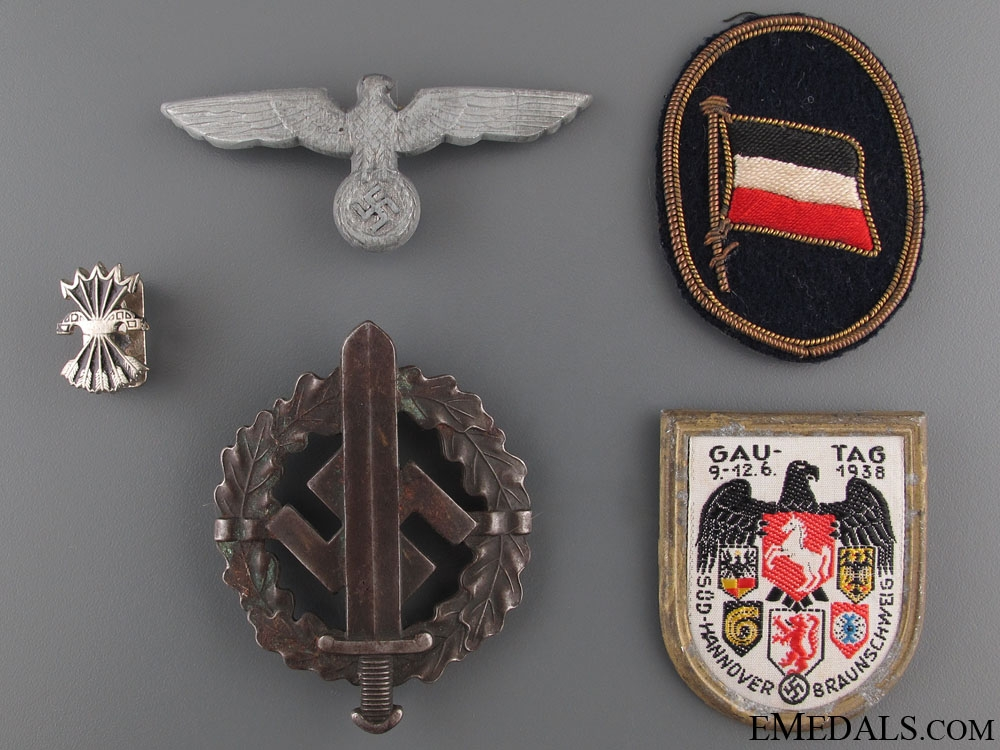 eMedals-Four German-Axis Items